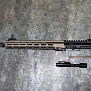 GHK M4 MK16 URGI 14.5 吋 GBB 專用 原廠上槍身總成/ 上槍身準系統