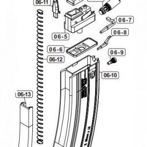 VFC UMAREX HK416 M4 GBB 鐵匣 上彈嘴 原廠零件 VG23MAG070