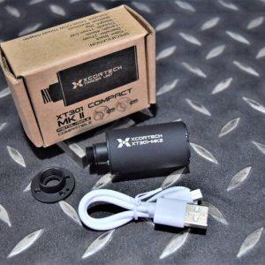 Xcortech XT301 MK2 手槍 發光器 滅音管 USB充電 紫外線光 XT301