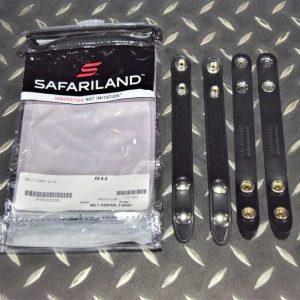 真品 沙法利蘭 SAFARILAND 65型 雙扣式 皮帶固定扣環 65-4-2
