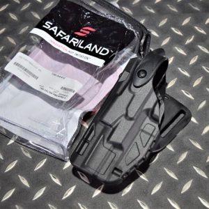 真品 沙法利蘭 SAFARILAND 7360 PPQ適用 警用防搶槍套 左手 黑 7360-384-412