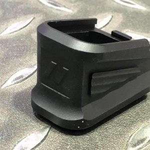 WE 死侍 DP17 GLOCK 用 IPSC ZEV 塑膠 彈匣底板 黑色