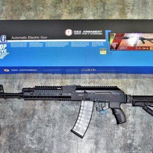 G&G 怪怪 TAK74 RK74-T KEYMOD AEG 三發點放 電子板機 全金屬 電動槍