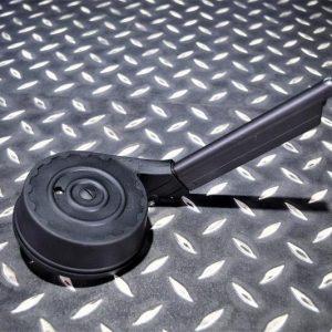 WE LUGER P08 魯格 GBB 瓦斯手槍 彈鼓 50發 彈匣 黑色 WEA-P08-50BK