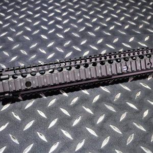 GHK DD 真槍廠授權 M4A1 DD RIS II 14.5吋 戰術魚骨護木 真品古銅色