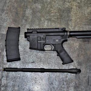 GHK M4 COLT 科特 授權刻字 彈匣+槍托桿+長槍管+槍身總成 不含槍托魚骨火帽