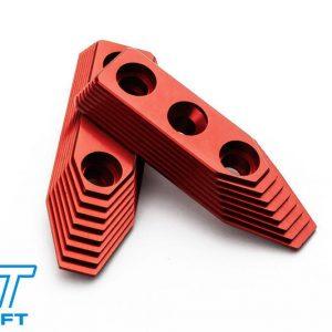MAXX SCAR CNC 鋁合金 外管固定座 StyleB 紅色 FOR VFC SCAR-L/H AEG