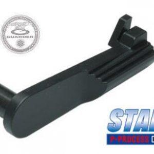 警星 GUARDER MARUI DETONICS .45不銹鋼滑套釋放鈕 黑色 DETONICS-22(BK)