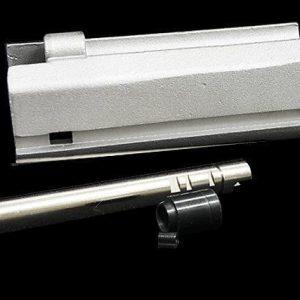RA-TECH GHK G5 GBB 瓦斯槍 鋼槍機+精密管組 銀色