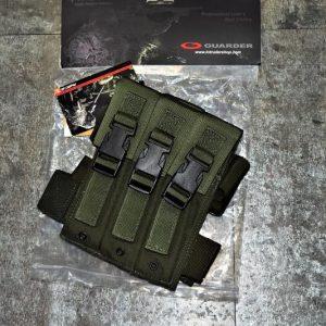 警星 GUARDER MP5 MP7 MP9 三聯 腿掛彈匣袋 T-01C(OD)