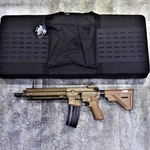 台灣製造 軟殼 90X40CM 槍袋 槍箱 黑色 生存遊戲