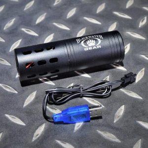 聲控式 自身位置曝露器 槍口火焰模擬器 逆14牙 黑水樣式 非發光器/噴火豬 JDT380