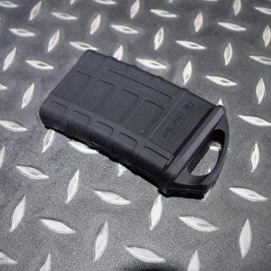 PMAG 樣式 M4 鐵匣 彈匣用 橡膠快拔套 GBB AEG 瓦斯槍 電動槍 黑色 JDT393-BK