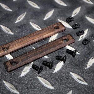潮流 實木製 M-LOK 魚骨護木 保護片 一組兩片 JDT394
