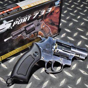 SHERIFF WG 733 M36 左輪 黑色握把 2吋 CO2手槍 WG-M36BK-CO2