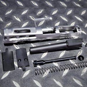 MAFIOSO P320 M17 Pro-cut 不銹鋼滑套+外管套件 附RMR座 MAFIO-M17ST