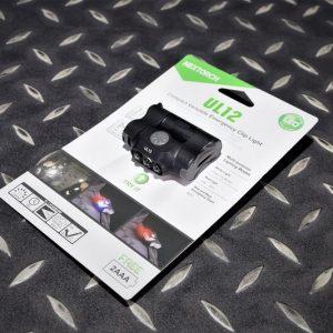NEXTORCH 納拓 納麗德 UL12 多用途輕量 帽燈 肩燈 警示燈 軍警露營野外 NEX-UL12