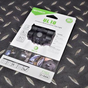 NEXTORCH 納拓 納麗德 UL10 多用途輕量 帽燈 肩燈 照明燈 軍警露營野外 NEX-UL10