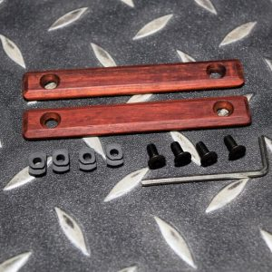 潮流 實木製 M-LOK 魚骨護木 保護片 一組兩片 生存遊戲 JDT394-RD