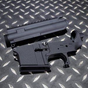WE M4 AEG 電動槍 上下槍身組 #14 #24 號 原廠零件