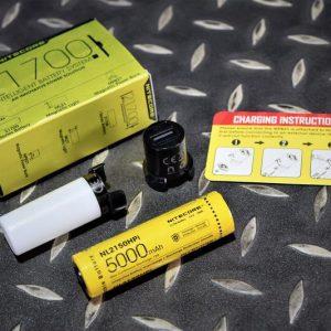 Nitecore 21700 智能電池系統組 80流明 露營燈 磁吸照明移動電源 NIT-06