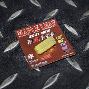 楓葉 2021極大射程 MR.HOP皮 GBB/VSR瓦斯槍 黃色60度 全新矽膠材質 M-NMR-G60