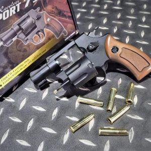 SHERIFF WG 733 M36 左輪 黑色槍身 仿木握把 2吋 CO2手槍 WG-M36BW-CO2