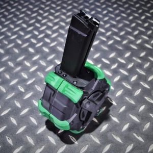 WE M4A1 SMG PPC 9mm PCC 樣式 GBB 300發 瓦斯彈鼓