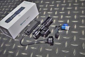 Olight Odin Mini 迷你 奧丁1250流明 240米 戰術槍燈 M-LOK 可換20mm魚骨 手電筒 黑色 OL-49