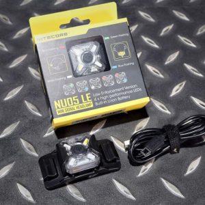 Nitecore NU05LE 多光源警示燈 微型頭燈 戶外照明 頭盔燈 軍警 NIT-07