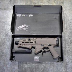ASG CZ 蝎子 Scorpion EVO3 A1 蠍式衝鋒槍 AEG 電動槍 電子板機 丹麥製造 沙色