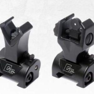 G&G 怪怪 M4 折疊式 準星 照門 瓦斯槍 電槍 GBB AEG