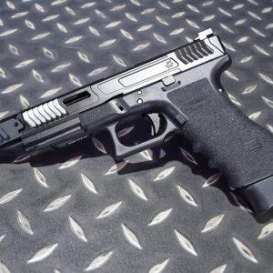 SAT風格 LoKi 炙燒握把版 成槍 VFC GLOCK G17 GBB 瓦斯手槍 黑色鋼滑套+黑色外管