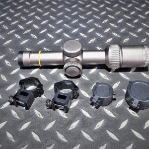 VORTEX 風格 Razor樣式 無刻字 剃刀 1-6×24 瞄準鏡 狙擊鏡 沙色 JDT427-A