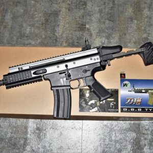 RA客製化 RENEGADE WE SCAR-SC L BAD GIRL 壞女孩 GBB 瓦斯槍 限定灰色