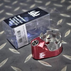 海神 POSEIDON LAL系列 Steel Armor QD 後托螺母總成 M4 GBB 適用 紅色 金色 綠色 藍色 紫色 黑色