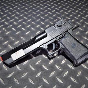 UHC DE.50AE 沙漠之鷹 小朋友空氣槍 拉一打一 黑色 UHC-DE-BK