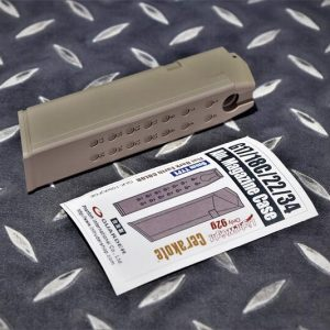 警星MARUI G17/18C/22/34鋁合金輕量化彈匣外殼 9mm 沙色 GLK-150(A)FDE
