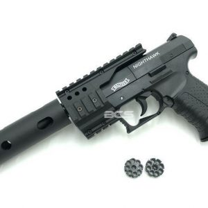 UMAREX Walther 授權 夜鷹 CP99 .177 喇叭彈 彈輪式 CO2 手槍 附槍盒 滅音管