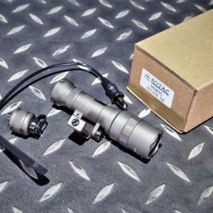 SOTAC M340C 戰術槍燈 電筒 快拆底座 附鼠尾 沙色 SD-078-DE