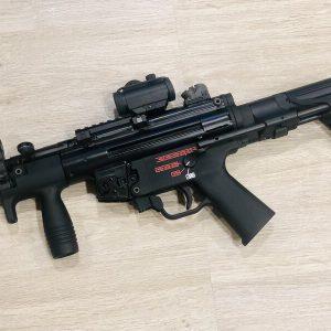 WE VFC HK MP5K PDW 轉5KU SLR PDW槍托 後托 瓦斯槍
