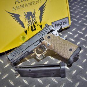 ARMY Armament R603 HI-CAPA 4.3 瓦斯槍 手槍 沙色 ARMY-R603