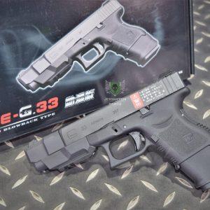 WE GLOCK G27 G33 GBB 單發 瓦斯槍 手槍 攻殼機動隊 黑色 WE-G007A-BK
