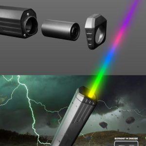 ACETECH Thor 快拆 彩色 彩虹橋發光器 槍口火焰模擬器 Kriss Vector V衝噴火豬