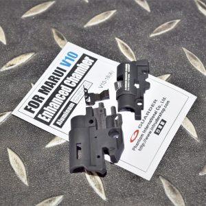 警星 GUARDER MARUI V10 鋁合金強化HOP-UP座 黑色 V10-18(A)