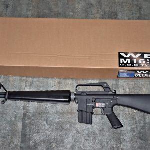 WE M16A1 GBB 三叉火帽 全金屬 瓦斯槍 步槍 長槍 WE-R-M004