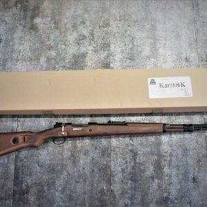 BELL 二戰德軍 Kar-98K 98K 拋殼式實木狙擊槍 手拉空氣狙擊槍 瓦斯狙擊槍 長槍 步槍