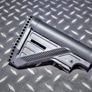 KWA KSC UMAREX HK 417 G28 DMR 伸縮後托 槍托 黑色 KWA-417-SBK