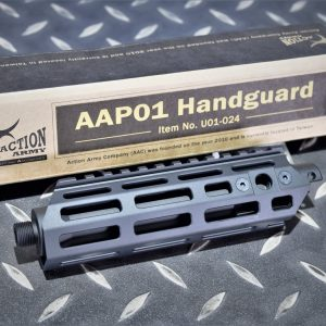 Action Army AAC AAP01 延伸 CNC 鋁合金 M-LOK 戰術魚骨護木 U01-024