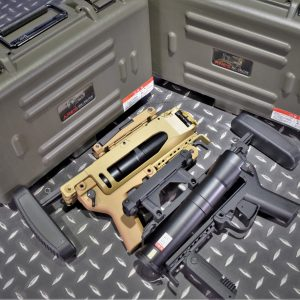 ARES M320 M203 全金屬榴彈發射器 40mm 可卸式伸縮托 黑色 GI-12 沙色 GI-13